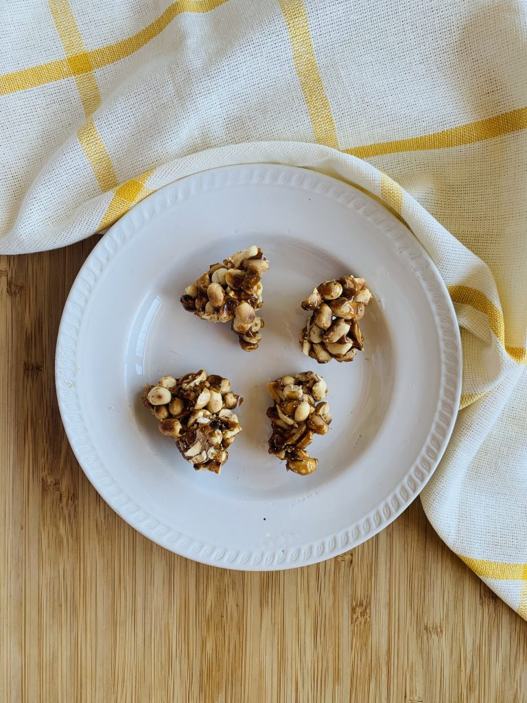 toddler snack recipes-peanut chikki