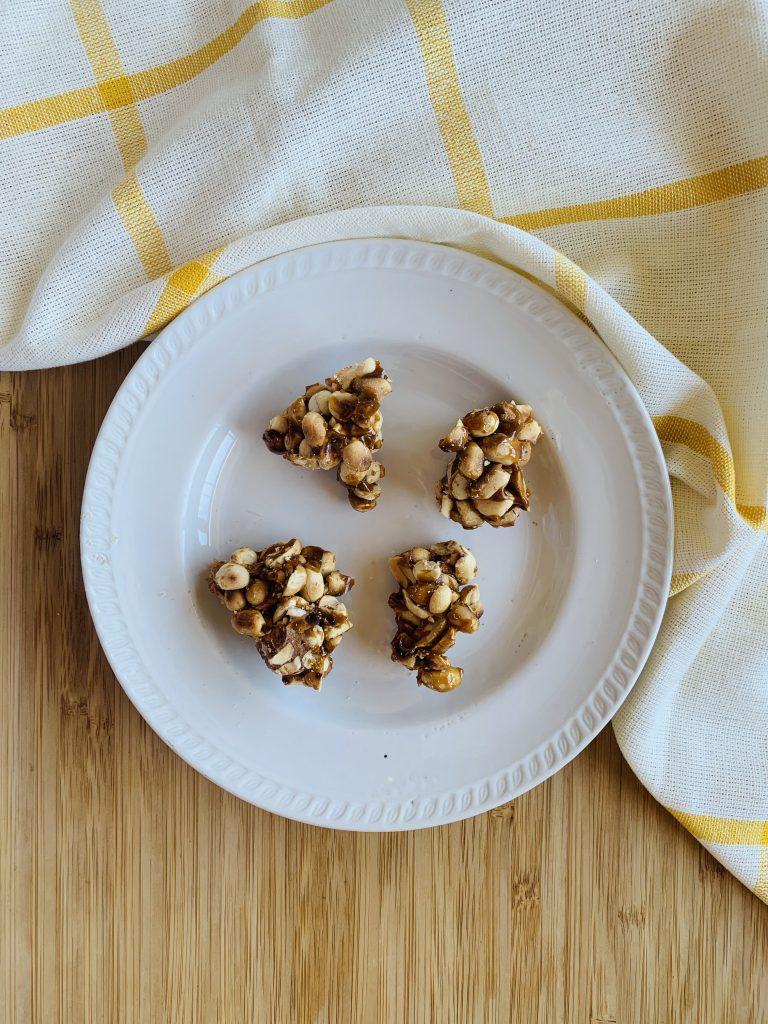 toddler snack recipes-peanut chikki