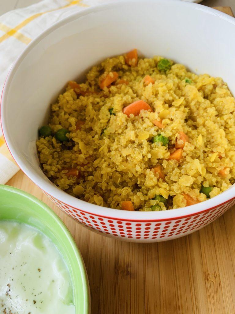 quinoa recipe for busy moms