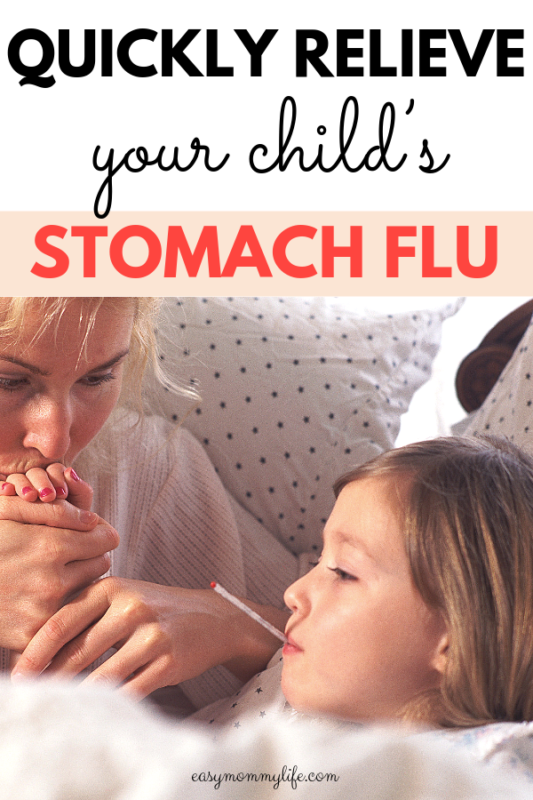 stomach bug in kids-sick child