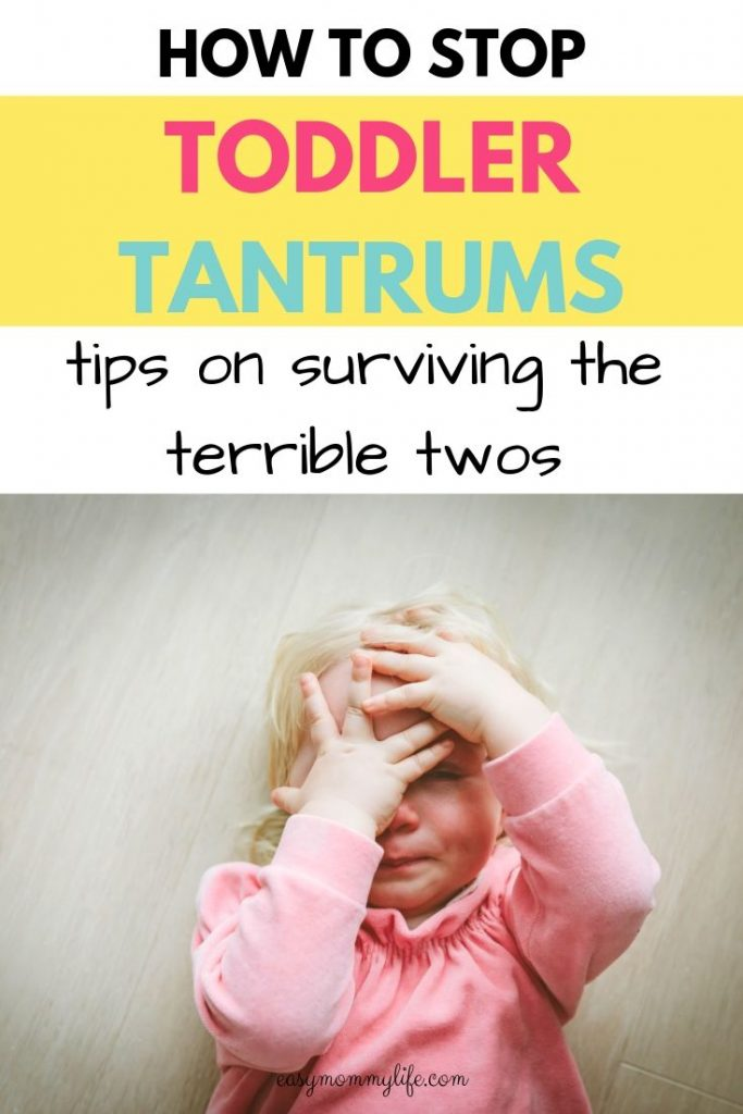 terrible twos symptoms